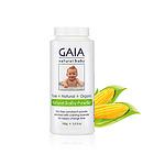 直邮澳大利亚GAIA 有机玉米淀粉婴儿爽身粉/痱子粉 祛痱止痒防湿疹 爽身嫩肤100g/瓶