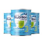 3罐装 直邮 荷兰牛栏3段新版铁罐装 Nutrilon婴幼儿奶粉 适用10-12个月宝宝 800g/罐*3