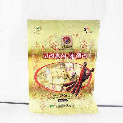 韓國參之元高麗紅參軟糖休閑糖果 佳節必備零食 250g/包