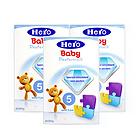 荷兰美素Friso/Herobaby婴儿奶粉5段700g/盒 2周岁以上 3盒装