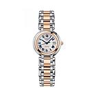 瑞士浪琴longines-心月系列间金机械女表 L8.111.5.78.6  漆绘罗马数字 女士手表 奢华腕表