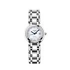 瑞士浪琴Longines-心月系列钻石刻度机械女表 L8.111.4.87.6 银色精钢女士手表
