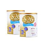 新西兰原装进口 S26惠氏金装婴儿奶粉3段 1岁以上宝宝  2罐装