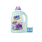 台湾 花王一匙灵 紫罗兰香氛洗衣液 除菌洗衣精 2.4KG/瓶
