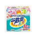 台湾 花王一匙灵亮彩洗衣粉 加香浓缩型无磷超能机洗净白去渍洗衣粉1.9KG/盒