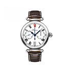浪琴Longines经典复古系列男士腕表L2.776.4.21.3 罗马刻度棕色表带机械男表 时尚休闲