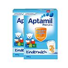 德国 Aptamil爱他美2+奶粉600g/罐  2岁以上宝宝 2罐装
