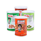 泰国大哥牌 香脆花生豆四种口味 烧烤味/虾味/鸡味/芥末味 115g/罐