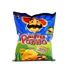 马来西亚 薯片先生/Mister烧烤味、香辣味、番茄味、原味薯片 4种口味任选 休闲零食75g/袋