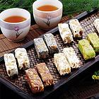 臺灣利耕純手工混合口味牛軋糖 花生芝麻抹茶巧克力綜合口味裝 奶香濃郁甜而不膩 250g/袋
