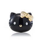 韩国进口hello kitty 黑色24K镀金手动身体清洁刷 限量珍藏版身体刷 浴刷