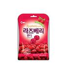 青佑CW水果硬糖組合裝 覆盆子味2袋+藍莓味2袋+檸檬味2袋 果味濃郁香甜爽口