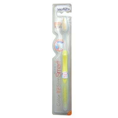 韩国Niche丽齿乐智能护龈双色毛细丝牙刷 软毛护齿牙刷1支 多种颜色可选