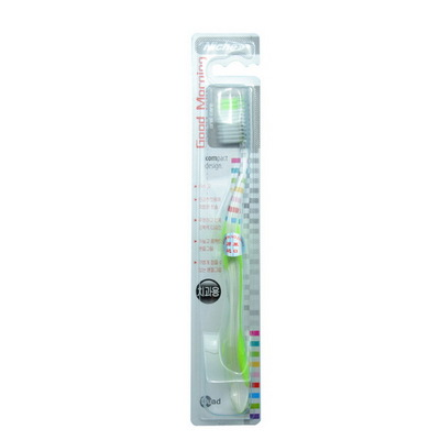 韩国Niche丽齿乐早上好清新细丝牙刷 软毛牙刷 1支 多种颜色可选