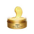 韩国miskin 黄金眼贴 钻石璀璨水合眼膜贴 祛黑眼圈特效祛细纹祛眼袋 多功能眼贴30对(60片/盒)