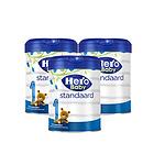 荷兰本土美素Hero Baby白金版1段0-6个月婴儿奶粉800g/罐