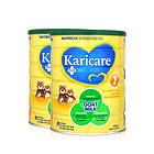 2罐装 原装进口 可瑞康 防过敏羊奶粉1段 适合0-6个月宝宝900g/罐*2