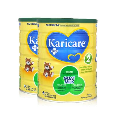 2罐装 原装进口 可瑞康 防过敏羊奶粉2段 适用6-12个月婴儿奶粉 900g/罐×2