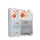 韩国直邮美迪惠尔MEDIHEAL可莱丝维生素面膜贴 美白提亮抗氧化10片/盒
