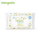 甘尼克宝贝BabyGanics无香型超温和清洁补水宝宝湿巾100抽 手脸都能用 清洁滋润护肤