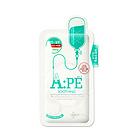 韩国美迪惠尔可莱丝MEDIHEAL水光针剂APE面膜APE水光针面膜 舒缓保湿 10片/盒 一盒/两盒