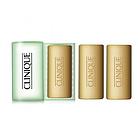 倩碧 Clinique 3 件小装洁面皂连盒 - 油性皮肤配方 3x50g