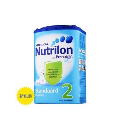 荷兰原装进口 Nutrilon牛栏本土婴儿奶粉2段 调动身体机能 激发免疫力800g/罐