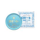 直邮日本诗留美屋Rosette硫磺祛痘洁面膏蓝色装干燥肌肤用洗颜膏 90g/盒 一块/两块