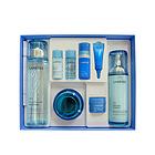 兰芝清爽型水乳霜3件套盒送5中样护肤套装 水泵保湿系统让肌肤尽情畅饮