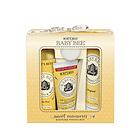 美国小蜜蜂Burt's Bees新生儿经典4件套大礼盒 洗发沐浴护臀爽身一套搞定 一套/两套