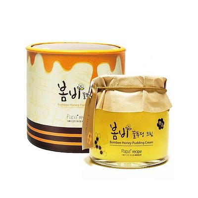 春雨papa recipe蜂蜜布丁果冻面霜睡眠面膜135ml 让水润Q弹肌顺利回归