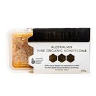 直邮栢利佳Berringa麦卢卡有机黑蜂蜂巢蜂巢蜜200g 口感好营养高