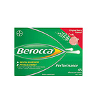 拜耳Bayer梅子味复合维生素泡腾片澳洲版45片 增免疫防感冒 随时随地恢复满满正能量 一盒/两盒