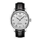 瑞士Tissot 天梭升级新款 LeLocle力洛克系列男士精钢自动机械手表腕表T006.407.16.033.00