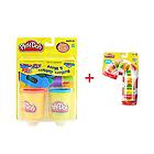 培乐多Play-Doh滚筒道具+糖果手杖手工彩泥橡皮泥 不怕误食的安全彩泥 众多妈妈放心的选择