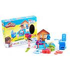 培乐多Play-Doh趣味诊所橡皮泥 迪士尼医生的诊所手工彩泥 好玩益智不怕误食