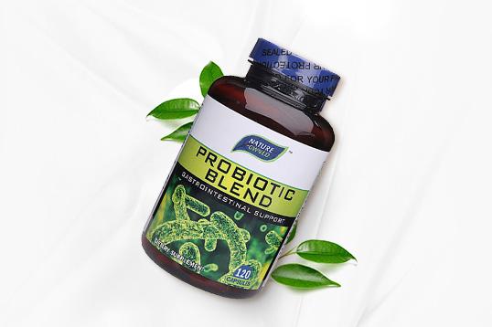美国 自然拥有nature owned 益生菌 促进肠胃吸收消化 抵抗细菌保护肠胃120粒/瓶