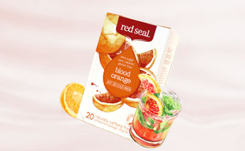 红印Read seal天然无糖水果茶20包 血橙玫瑰茶/草莓大黄茶/异国水果茶任选 时尚百搭超好喝