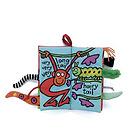 英国邦尼兔Jellycat憨厚动物尾巴趣味教科书 玩具书 智能早教益智