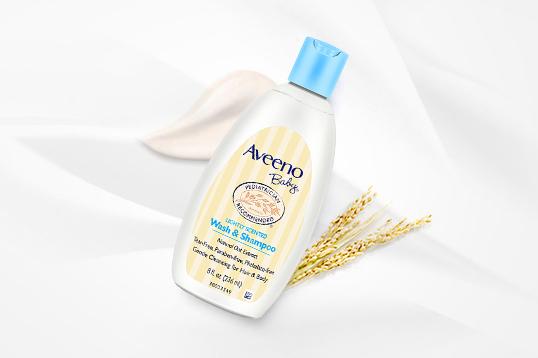 美国 Aveeno 艾维诺 婴儿二合一沐浴液 洗发沐浴均可(236ml/瓶)