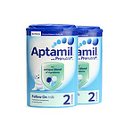 英國本土Aptamil愛他美奶粉2段 900g/罐6-12月   2罐裝