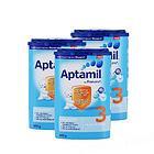 德国 Aptamil爱他美奶粉 3段 800g/罐 10-12个月  3罐装