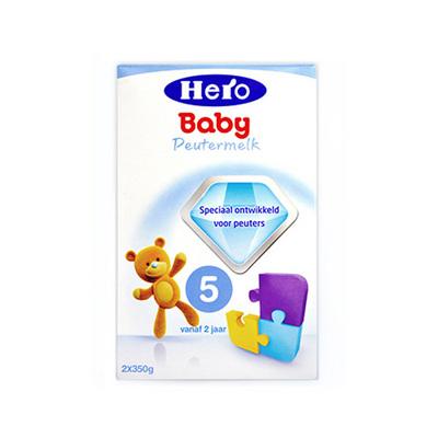 1盒装 荷兰原装进口 美素Friso/Herobaby婴儿奶粉5段 700g