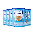 6罐装德国原装进口 美乐宝 Aptamil爱他美奶粉 1段 0-6个月 德爱800g/罐