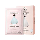 【张韶涵同款】韩国MERBLISS婚纱补水面膜Wedding Dress准新娘面膜5片 补水控油提亮肤色