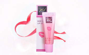 泰国bory cute液体保湿润唇膏10ML嫩唇唇彩口红 提亮唇色淡化唇纹 一支/两支