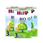 3盒装喜宝Hipp有机奶粉3段800g 10-12个月宝宝奶粉 优质奶源营养均衡