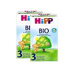 2盒装喜宝Hipp有机奶粉3段800g 10-12个月宝宝奶粉 优质奶源营养均衡