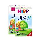 2盒装喜宝Hipp有机奶粉12+段 12个月以上宝宝奶粉 营养均衡全面口感清淡