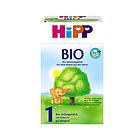 喜宝Hipp有机奶粉1段600g 3-6个月宝宝奶粉 有机奶源口感清淡